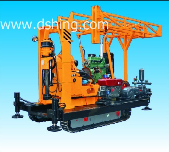 DSHY-2L  Powerful Crawler Mounted Water Well Drilling Rig