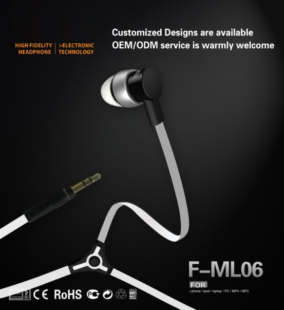 high quality stereo earphone, headphine, headset
