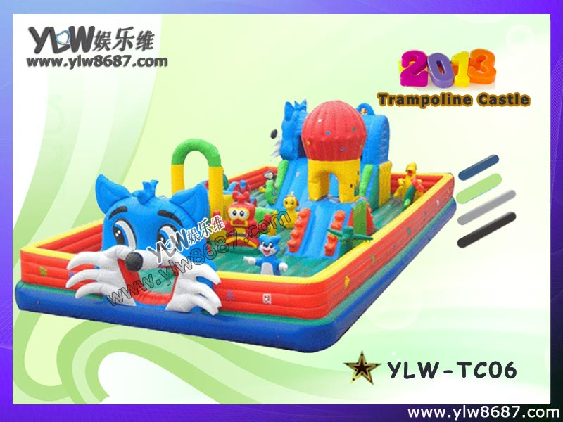 kids inflatable trampoline,inflatable bouncer,inflatable jumping bed