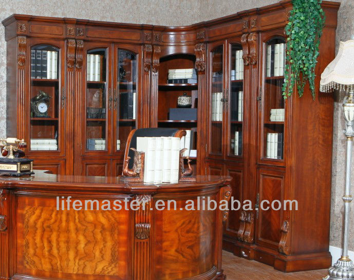 study room furniture wooden book cabient DF95-26A