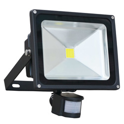 PIR Sensor 50W COB LED flood light waterproof IP65
