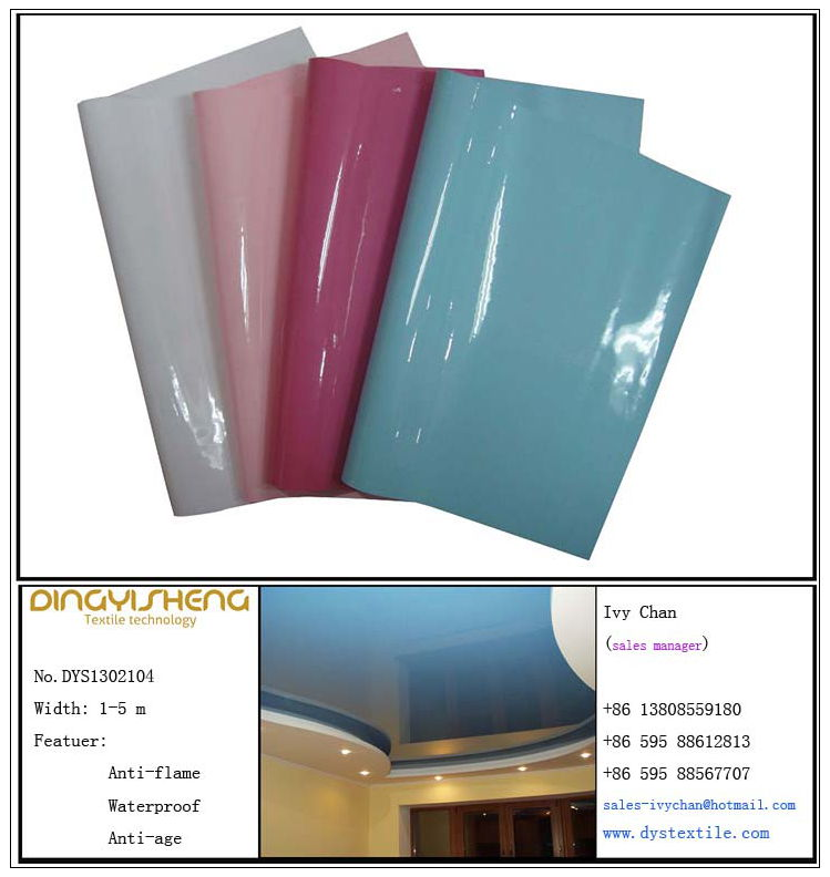 Glossy Stretch Ceiling Film