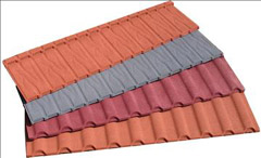 Metal Roof Tile Stone coated steel roofing