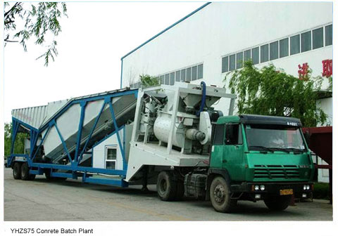 HZS90 Stationary Concrete Mixing Plant
