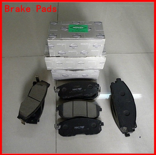 Auto Brake Pads D888-7766 for Car NISSAN MURANO (Z50) ,PATHFINDER (R51) ,FRONTIER (D40)