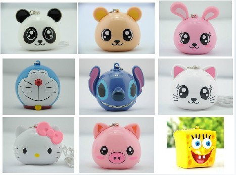 portable cartoon USB speaker