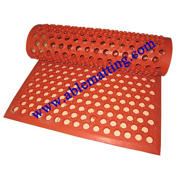 Anti-fatigue Flow-through Floor Mat