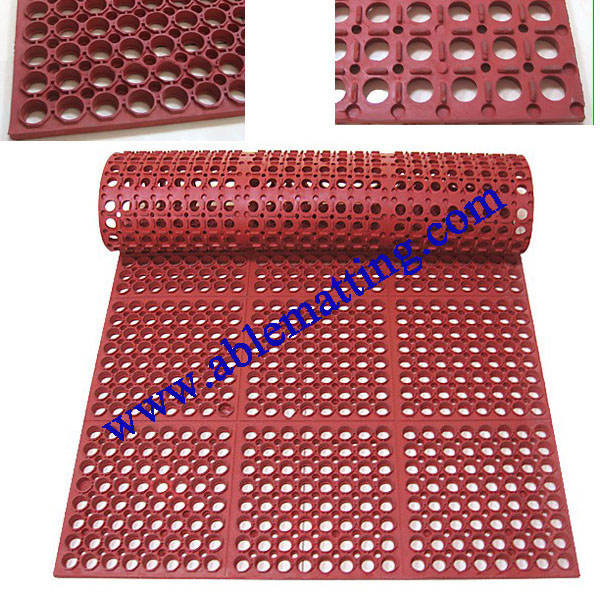 Rubber Drainage Floor Mat