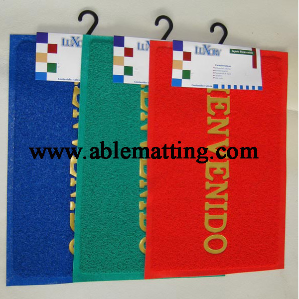 Door Mat, Entrance Mat, PVC Coil Mat