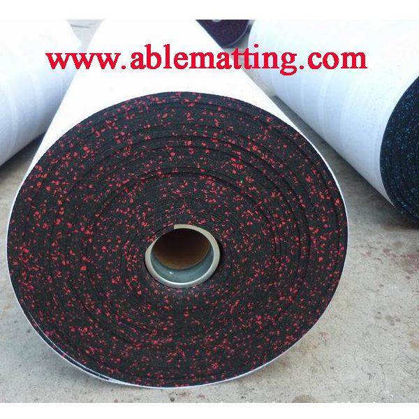 Gym Mat - Recycled Rubber Roll