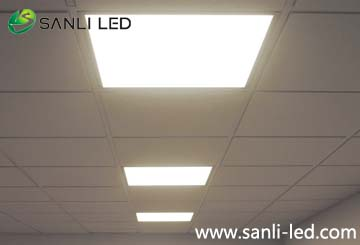 36W square 600*600mm,620*620mm,595*595mm cool white LED Panels with DALI dimmable & Emergency
