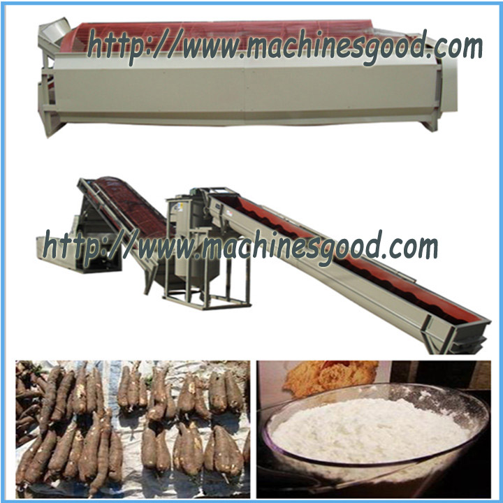 automatic cassava flour machine