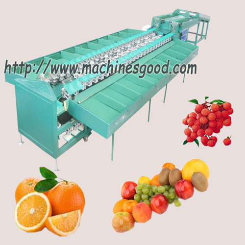automatic fruit apple sorting machine