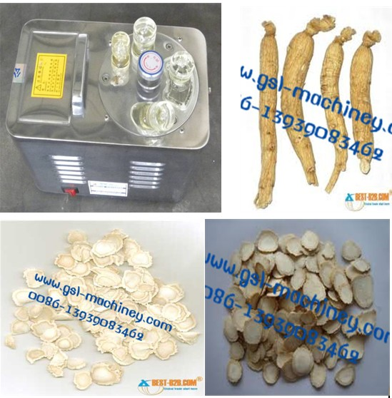 automatic slicing machine/ginseng slicing machine/almond slicing machine/nuts slicing machine/small peanuts slicing machine/wonderful mini cutting machine/multifunctional slicing machine/stable perfor
