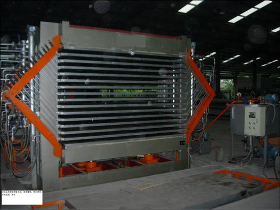 Hot Press Veneer Drying Machine