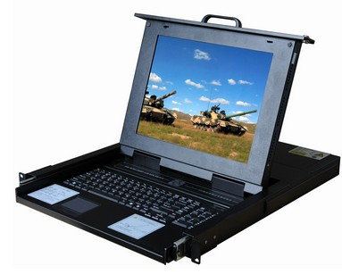 16Port Rackmount LCD monitor