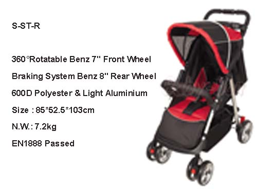 china baby stroller of standard style