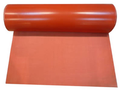 High temperature resistant silicone fabric