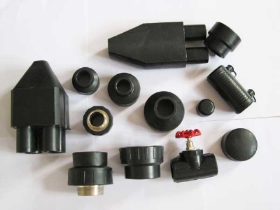 PE 100 pipe fitting for water