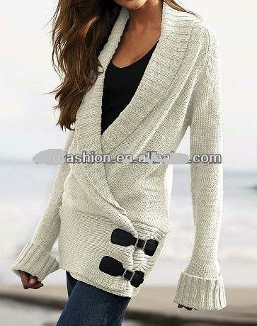 leisure wear pullover sweater