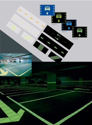 Luminous Safety Tile