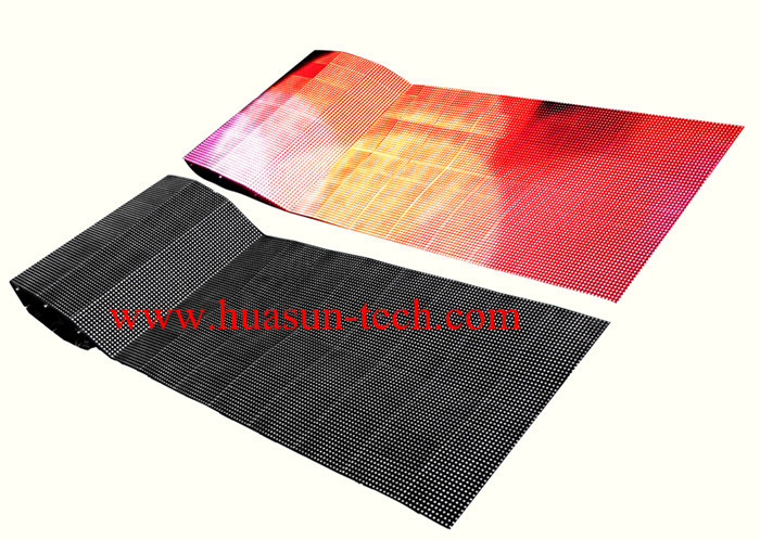 Soft LED display p7.8125mm LED Curtain