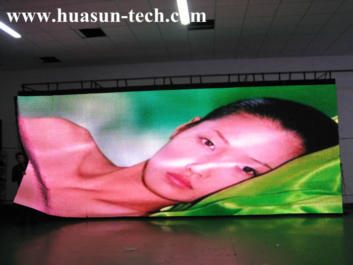 Flexible LED Curtain With Light Weight, Slim Body and Versatile Application