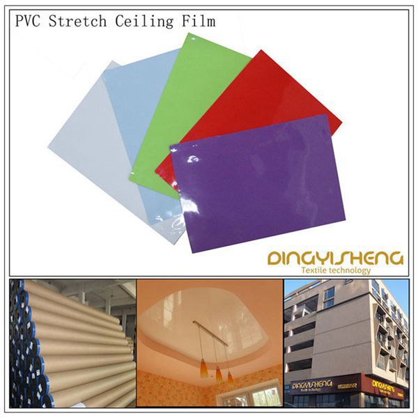 Kiss Laminated Stretch Ceiling Film for Interior Decoration