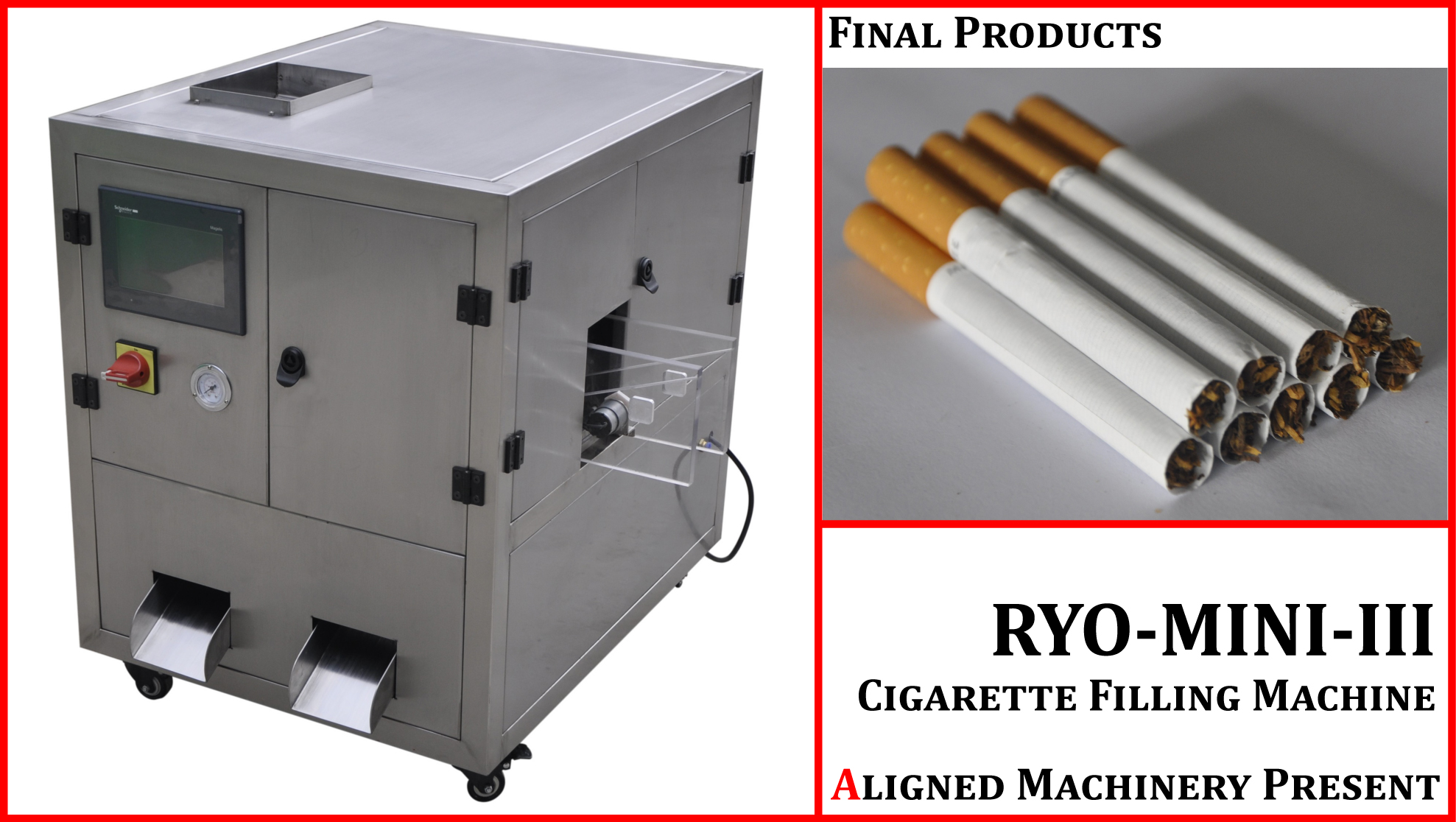 personal cigarette packing machine