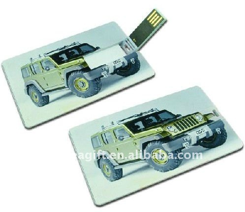 card shape usb flash drive