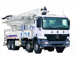 25M Truck-mounted Concrete Pump