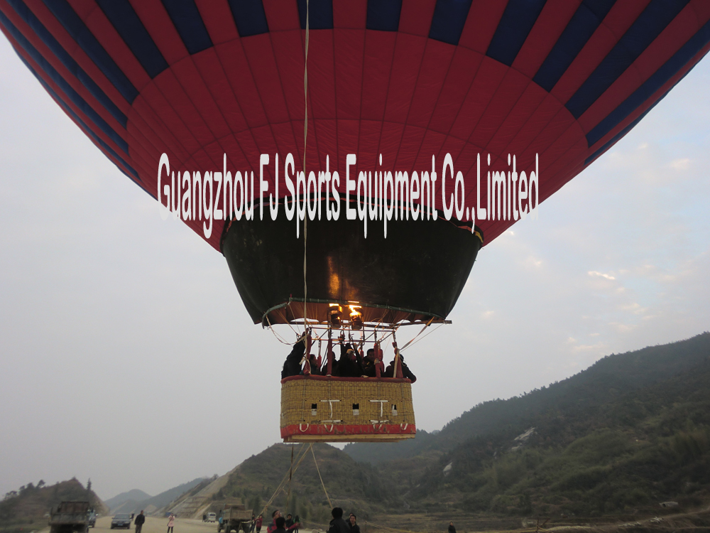 Special Shape Hot Air Balloon for Resort