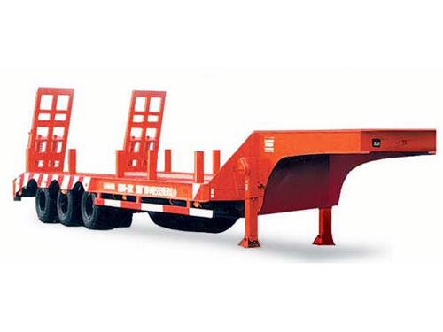 High standard 2 axles or 3 axles flat bed semitrailer