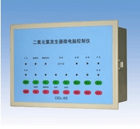 Controller for Wastewater Disinfection with Chlorine Dioxide