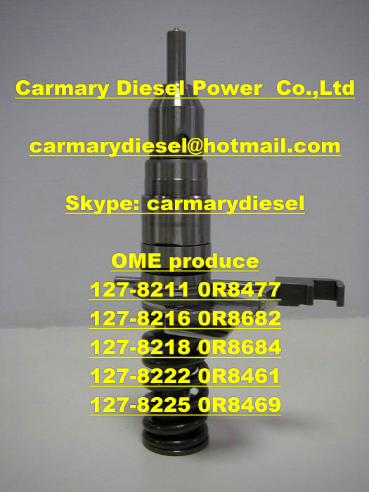 Caterpillar injector 127-8211 0R8477,127-8216 0R8682,127-8218 0R8684,127-8222 0R8461,127-8225 0R8469
