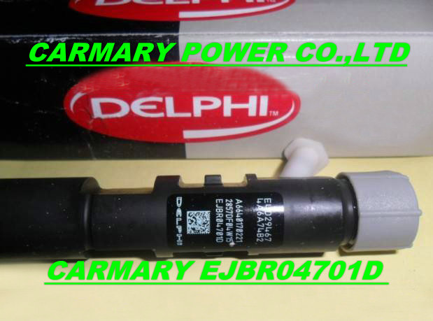 Delphi injector EJBR04701D for SSANGYONG D20DT A6640170221