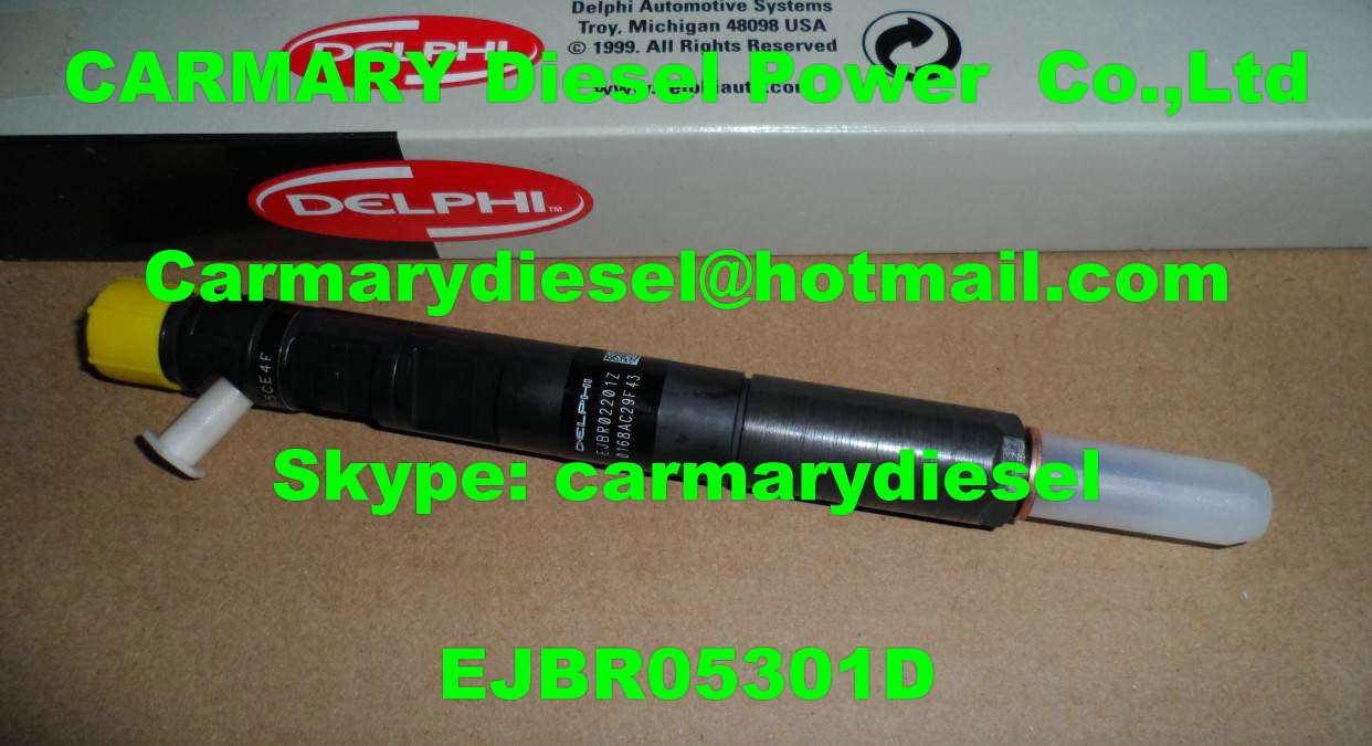 DELPHI common rail injector EJBR05301D, EJBR06101D for YUCHAI FS0001112100011