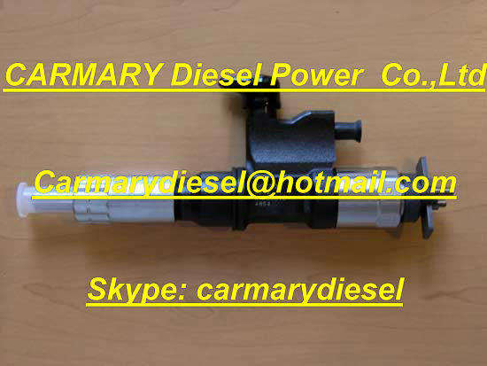 Denso injector Denso injector 095000-6070 for Komatsu excavator PC400/450-8