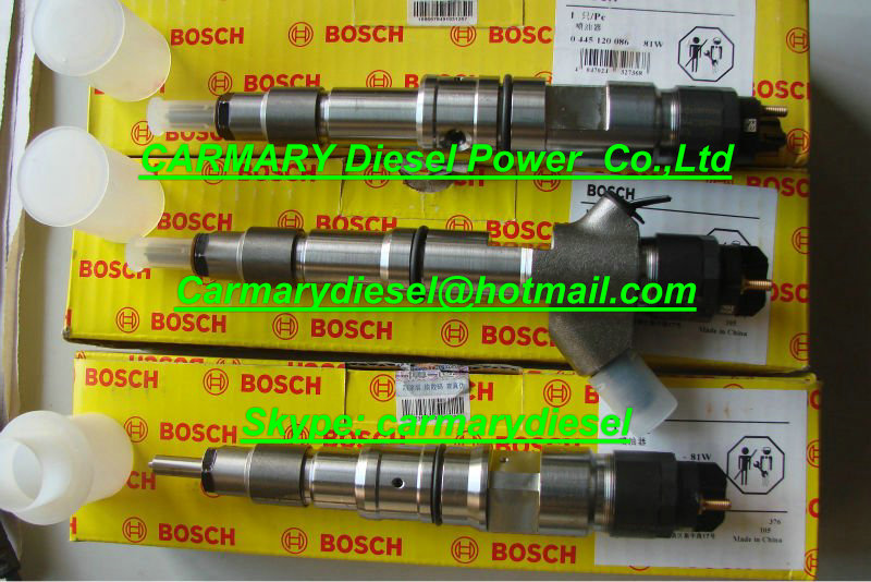 Bosch original new common rail 0445224025/3977727 for Cummins ISDE