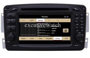 Wholesale - Car GPS Navi TV DVD Radio for Mercedes-Benz Viano A C E G M/ML CLK SLK Class