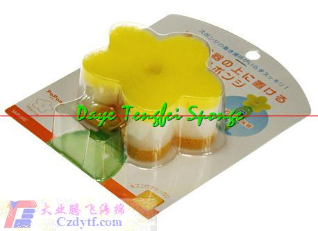 three layer sponge