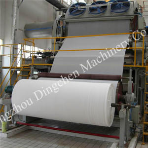 1092mm   High Quality Toilet Paper Making Machine