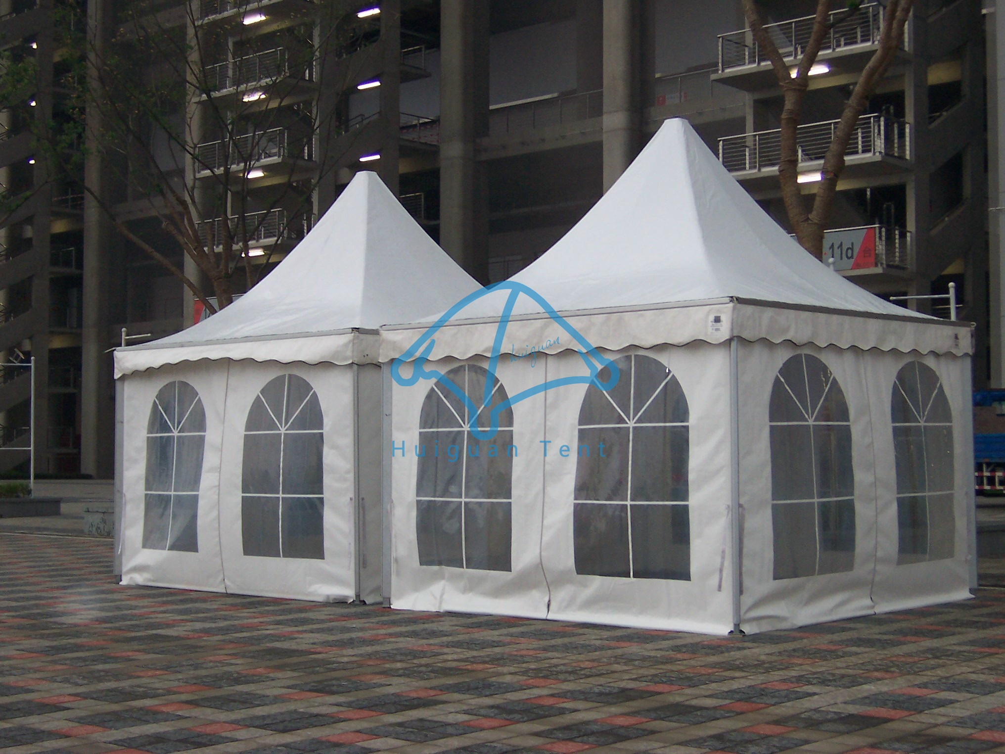 exhibition pagoda tent