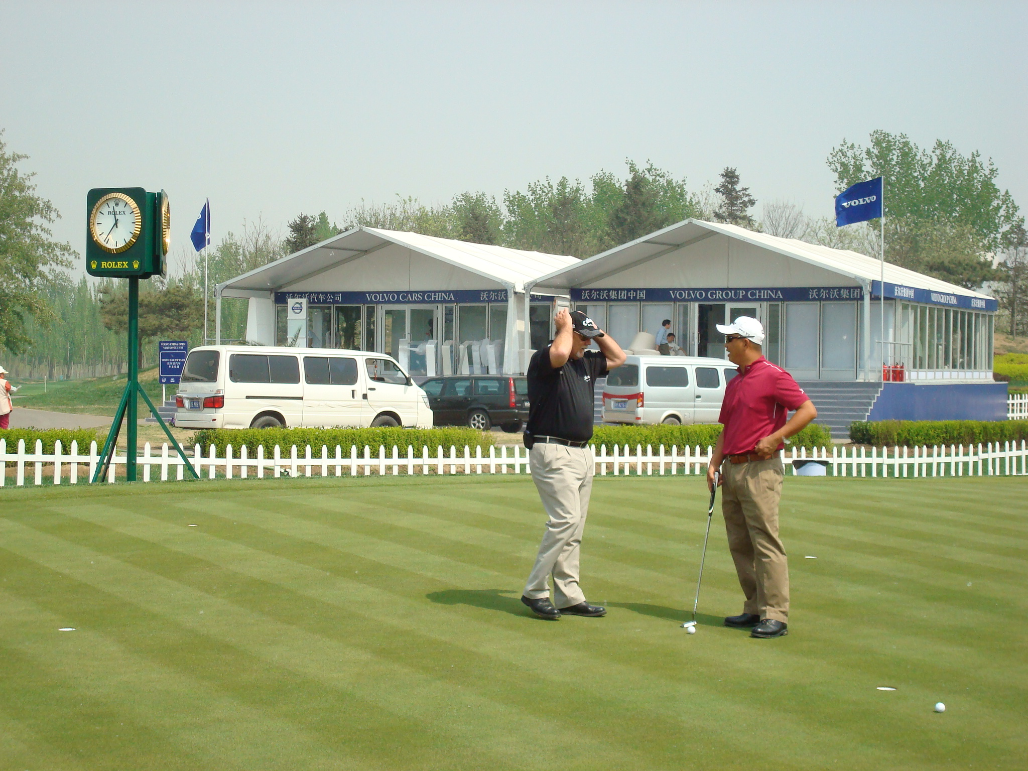 golf sports exhibition tent