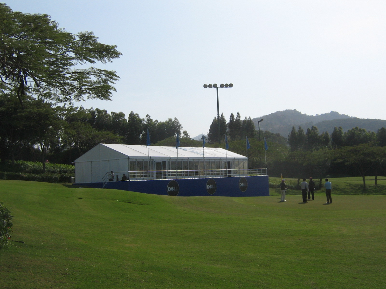 party exhibition tent