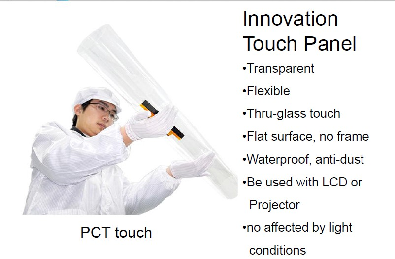 touch foil, interactive touch film, touch screen kiosk