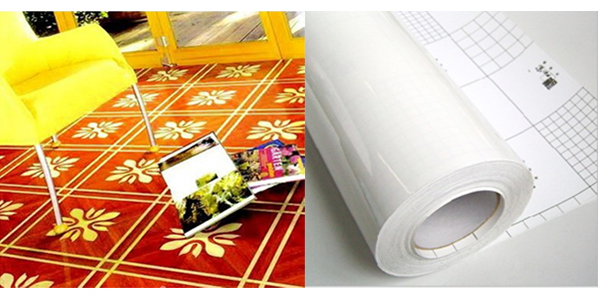 Floor lamination film( clear self adhesive vinyl)