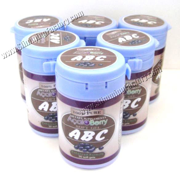 100% Original ABC Acai Berry Slimming Capsule