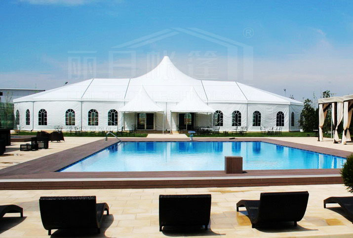 Nice design high peak tent for wedding party