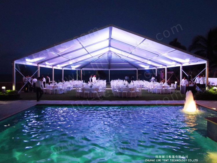 500 banquet seating capacity canopy marquee